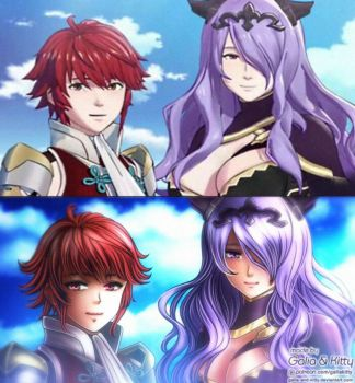 Redraw Request: Hinoka and Camilla (Fire Emblem) by galia-and-kitty
