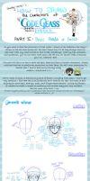 How to Draw CG Characters -1- by sherbertKISSES