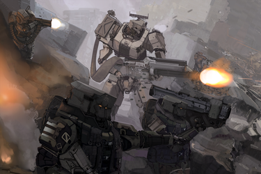 Shattered Void: Mechanised Assault by Kwibl