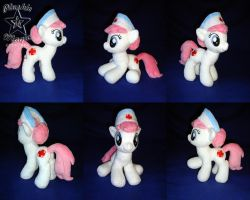 COMMISSION: Nurse Redheart 10 inches plushie by SunflowerTiger