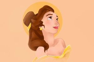 Princess Belle by Rin171