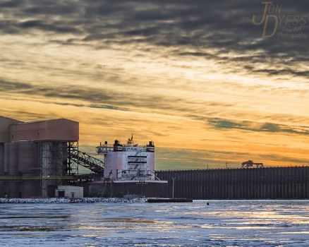 Sunset Loading by hull612