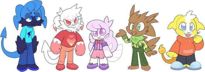 The Gang by Pupom