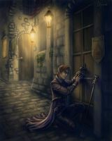 Old Thief by Ilnere