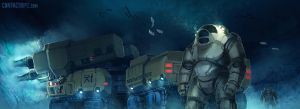 Contact - Ocean Strip Mine by Shimmering-Sword