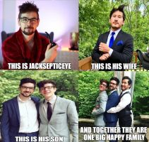 Meet the jacksepticeye family by Prince-riley