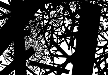 Chaos in fractals by watarius