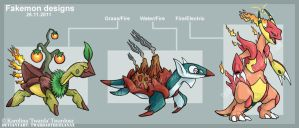 Fakemon for contest