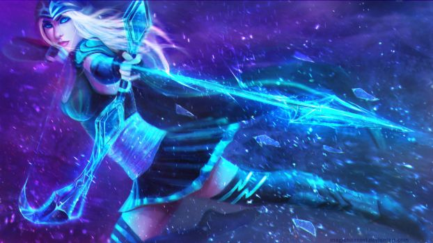 Ashe - the Frost Archer by MagicnaAnavi