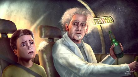 Rick and Morty Realistic Take by CameronVanHook