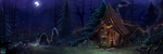 [ IV ] Cabin in the woods-  /MONEY Tracker by Reiki-kun