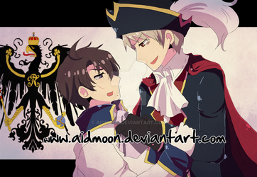 APH . Seven Weeks War . by aidmoon