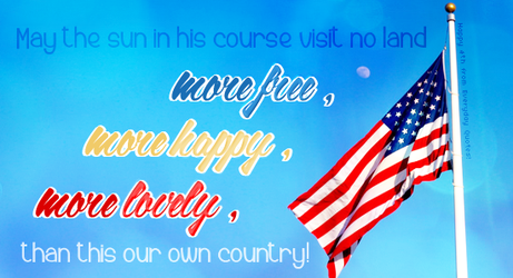 Everyday Quote #27: Independence Day by sugarnote
