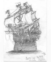 Pirate Ship-Jolly Roger by jack8642
