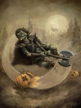 The Pumpkin Carver by UnderneathEverything