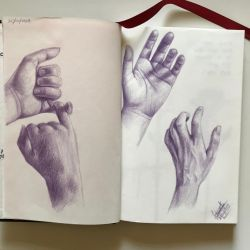 The hand series by TabarakM