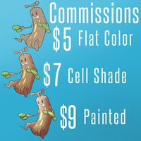 Commission Sheet 2 POSTPONED by OminousEcho