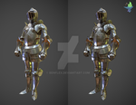 Ornamental Plate Armour Sketchfab Inspector by BenFlex