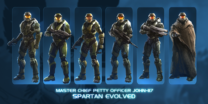 John-117 Spartan Evolved commission by TDSpiral