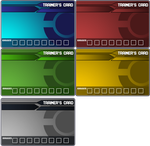 Pokemon Trainer Card Templates by Ford206