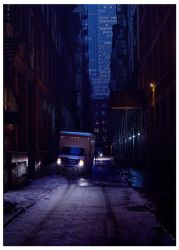 NY alley by leventep