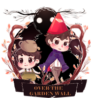 Over The Garden Wall by a-clash-of-kings