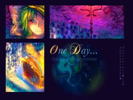 One Day Charity Artbook Preview by uchuubranko