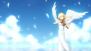 Kimiuso - Above The Sky by popseacle