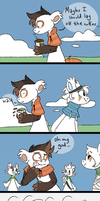 Maybe you SHOULD lay off the coffee | BB COMTA by Moonspirit13