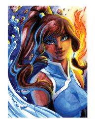 Korra by ashes-AR