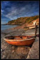 Lulworth Rowboat by Wivelrod