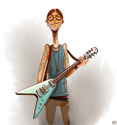 Rock Guitarist by shkshk7
