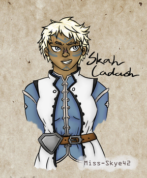 [Dragon Age Inquisiton] Inquisitor Skah Cadash by Miss-Skye42