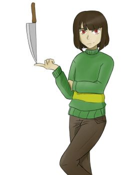 Chara by A-Fistful-Of-Kittens