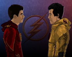 Allen and Thawne by IronAvenger1234