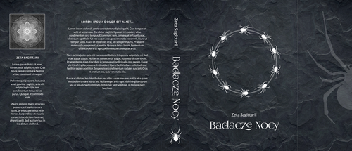 Badacze - cover design by ZetaSagittarii