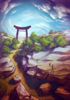 Torii Nature by Lun-art