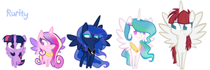 Alicorn Stand by Rurity