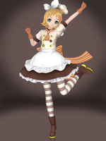 Kagamine Rin (Magic Chef) by Sticklove