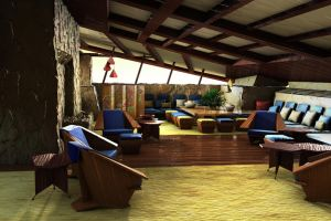 taliesin west living room by nonvisiblebob