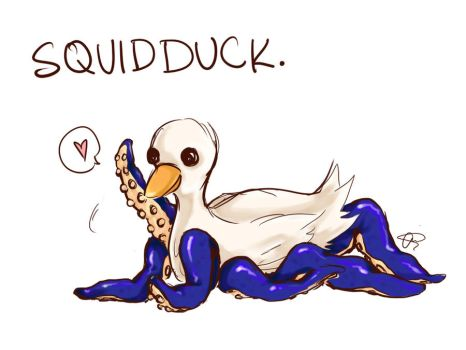SQUIDDUCK by ChiharuSato22