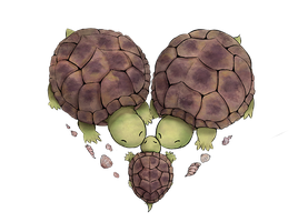 Turtle Heart by DrakeTurtle