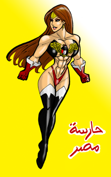 Lady Cairo Guardian of Egypt by johnnyharadrim