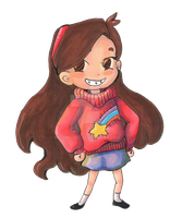 My name is Mabel it rhymes with.... by MeltmyArt