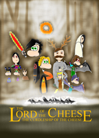 Lord of the Cheese by HyperactiveMothMan