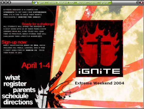 Ignite - Web Site by thewill