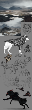 Concept sketches by areot