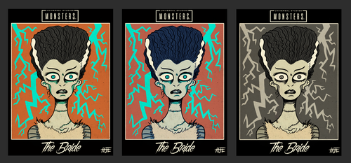Universal Monsters - The Bride by HJTHX1138