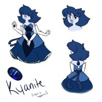 lapis and sapphire fusion by ColoredSketches