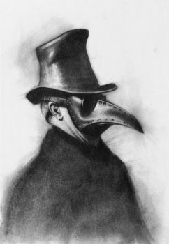 Plague doctor by zednaked